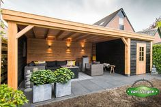 Garten Design Pool Cover douglas lienden Acne – the What, Why and Ho Modern Landscaping, Backyard Landscaping, Landscaping Ideas, Back Gardens, Outdoor Gardens, Backyard Storage, Backyard Buildings, Design Jardin, Backyard Patio Designs