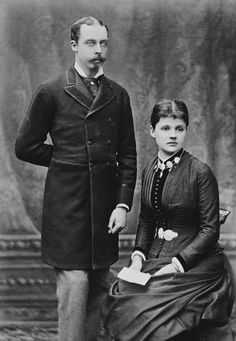 Feb 1882  Leopold, Duke of Albany, and Princess Helen of Waldeck-Pyrmont, 1882 [in Portraits of Royal Children Vol.28 1881-1882]