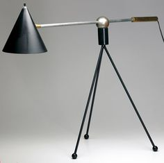 Gilbert Watrous, Heifetz Table Lamp, 1951.