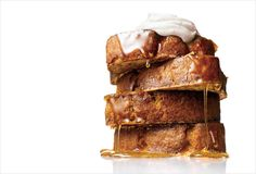 Banana bread french toast.  I need someone to come over and make this for me immediately, please.  @leitesculinaria