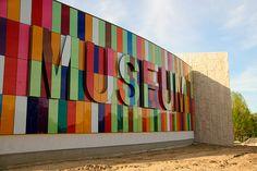 Museum. Environmental graphic design