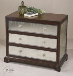 "Uttermost, Jayne, Accent Chest by Matthew Williams 38""W x 31""H x 20""D"