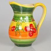 jug, handmade, handpainted, ceramic, artesanía, alfarería, jarra, cerámica, pintada a mano