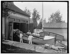 U.S. Life Saving Station, Macatawa Park, Mich..  1890-1901