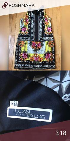 Julian Taylor Dress Cute Lightweight dress!  Floral and tribal prints. Julian Taylor Dresses Midi