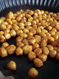 Arabafelice in cucina!: Snack sfizioso di ceci alla paprika