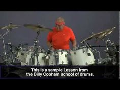 "VIDEO: Here's a quick drum lesson on how to play the tune ""Spectrum,"" by the master drummer hisself, Mr. Billy Cobham."