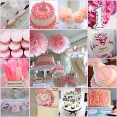 baby girl first birthday ideas | Working with the fabulous ladies of Icing Designs who created a ...
