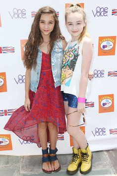 Rowan Blanchard and Sabrina Carpenter - 7th Annual Kidstock Music And Art Festival - Arrivals
