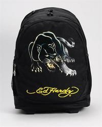 Brand New Ed Hardy Printed Rolly Backpack Black Panther SAVEOVER 54% a5f712202b66f