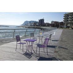 http://www.vivalagoon.com/2672-12686-thickbox_default/lipari-white-metal-garden-chair.jpg #outdoorliving #garden #gardenchair #metalchair #chair #white #whitechair #outdoor