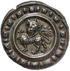 Königliche Münzstätte Ueberlingen. Pfennig um 1230/1250. Um 1230 - 1250. Ø 2,15 cm 0,47 g. Silber.