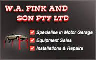 W.A Fink & Son are in the Automotive #GarageEquipment Supply & Service Industry. We sell new & used vehicle hoists in Melbourne. Call us on 03 9706 6353. We are best in #HoistService