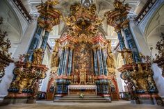 High Altar of the monastery Rheinau by Christian Boss on 500px