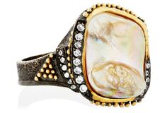 One-of-a-Kind Mother-of-Pearl Ring, 8