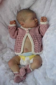 KAMI ROSE by LAURA LEE EAGLES brought to life by Baby banter member Catherine Turner from Kate's Cradles