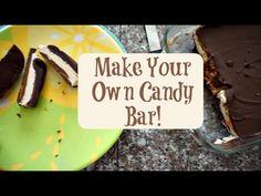 Make Your Own Candy Bar | National Nougat Day | MamaKatTV - YouTube