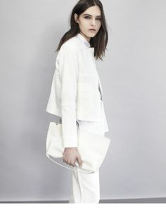 Ways To Wear: All White. Jackets