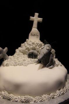Frankenweenie Sparky cake