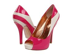 BCBG retro pumps want these in black and white!