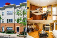 HOME OF THE DAY - Stunning EYA Townhome in the Center of Fairfax. 3BR/3.5BA. 4 Levels of Upgraded Features Including Wrought Iron Railings, Surround Sound on all 4 Levels & a Roof Top Terrace Perfect for Entertaining. Hardwood Floors, Open Gourmet Kitchen, Hunter Douglas Blinds, Elfa Closets Systems and Spacious 2 Car Garage. A MUST SEE! Steps Away From Fairfax Towne Center  Oaks Mall - http://search.psahomes.com/idx/details/homes/a004/FX8075511/4126-HALSTED-ST