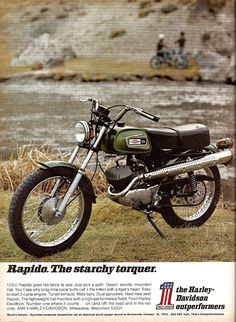 "Harley Rapido from the AMF days.  ""Starchy torquer""?"