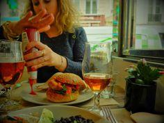 Le Dépanneur, Paris: ceviche, burger, veggie, tacos, cheesecake et Brooklyn Lager