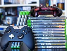 Elite Controller : The one and only weapon of choice  ------ #VideoGame #videogames #Jeuxvideo #Xbox #XboxOne #XboxOneX #Gaming #gaminglife #Halo #Titanfall #StarWars #CallOfDuty #pubg #prey #Bioshock #gamer #console #collector #instagaming #instagamer #iger #instadaily