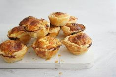 I made this recipe up about 4 years ago as a nice Christmas version to my usual bacon mini quiches. I have made them every Christmas since, and they have been a huge hit with my family, friends and colleagues. Mini Quiches, Mini Pies, Steak And Mushroom Pie, Cheap Meals, Cheap Recipes, Fun Recipes, Pudding Recipes, Diet Recipes, Recipies