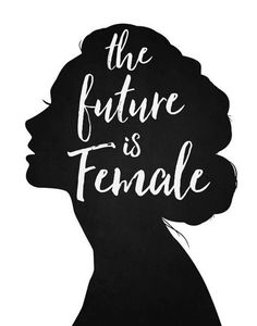 Items similar to The Future is Female - Quote print black and white script wall art - feminist boss women ladies females saying - silhouette modern minimal on Etsy - girl boss Women Empowerment Quotes, Girl Empowerment, Boss Lady, Girl Boss, Feminism Quotes, Equality Quotes, Boss Quotes, Quotes Quotes, Monday Quotes
