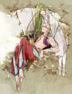 Even your hair is more beautiful than those leaves Fate Zero, Gilgamesh And Enkidu, Manga Anime, Anime Art, Fate Stay Night Anime, Cute Couple Art, Dark Art Drawings, Drawing Reference Poses, Fan Art