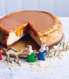 Salted caramel cheesecake. Oh man how good does this look?!