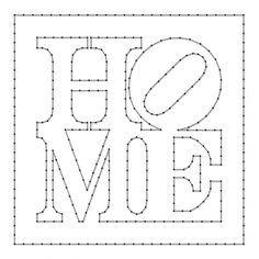 Home | Spijkerschriften, muurteksten, string-art, spijkerteksten, spijkerpatronen | spijkerpatroon (string art)