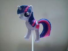 Centro de Mesa My Little Pony   Fina Flor Ateliê   Elo7