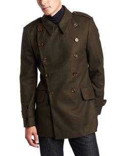 Mens Military Coats   French-Connection-Wool-Coat-with-Military-Mens-Style-brown-front.jpg