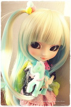 Rainbow Kana  - Pullip Shan-ria by Kim-kun, via Flickr