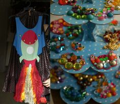 rocketship dress and space jewelry found at TLVstyle Boutique Tour