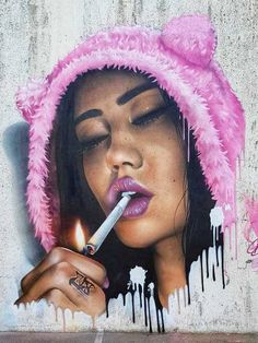 The best streetart of the day: in Barcelona, Spain. Amazing Street Art, 3d Street Art, Street Art Graffiti, Street Artists, Awesome Art, Graffiti Bridge, Graffiti Murals, Banksy, Buble Gum