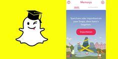 Snapchat Memorys: Fluch oder Segen?