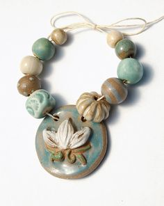 RESERVED for the lovely HeatherFig / Lotus Moon / Handmade by gaea, $30.50