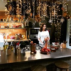 In My Christmas Kitchen For A Spot Of Early Morning Baking... #Nigella  #AtMyTable
