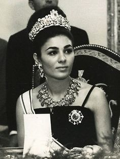 Her Imperial Majesty Empress Farah Diba of Iran/Persia