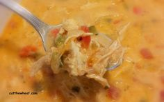 Cut the Wheat: Creamy, Spicy, Four Pepper Mexican Chicken Soup