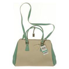 Viel Stauraum und schön ist sie auch noch: L.CREDI Damen Handtasche (Leder)