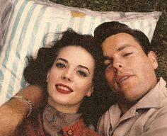 Natalie Wood and Robert Wagner cute pic. didnt he MURDER her though? :O