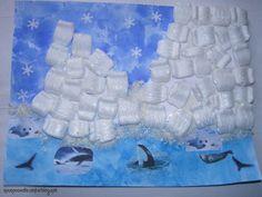 thema Noordpool voor kleuters, ijsbergen