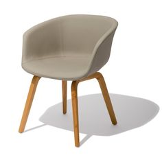 Oslo Chair — The Oslo is perfect for fine dining or lounging as you surround yourself in the modern split leather bucket seat.