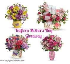 mothers-day-flowers http://www.stayingclosetohome.com/mothers-day-flowers-teleflora-giveaway.html