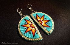 Most recent No Cost Beadwork designs Concepts Thread strain can produce a enormous affect the way your diamond jewelry looks. No-one desires to spend time Beaded Earrings Native, Beaded Earrings Patterns, Native Beadwork, Native American Beadwork, Seed Bead Earrings, Beaded Bracelets, Native Beading Patterns, Beadwork Designs, Bead Loom Patterns