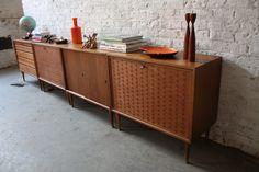 Ravishing Poul Cadovius Royal System Teak Modular Cabinets (Denmark, 1950's)